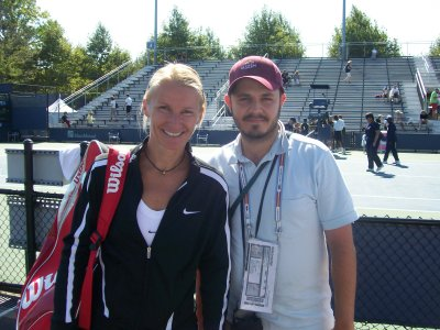 Chris and Jana Novotna