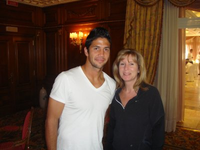 Roseanne and Fernando Verdasco