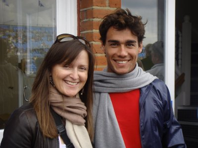karen and fognini