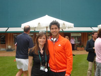 Karen and Fernando Verdasco