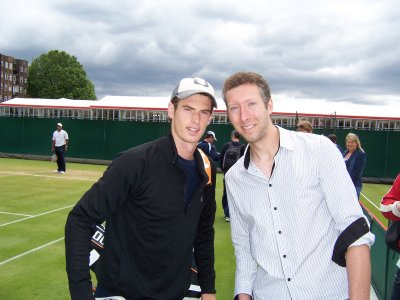 Andy Murray and James